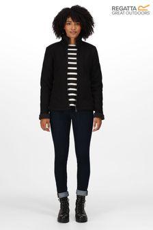 Regatta Black Brandall Full Zip Fleece Jacket