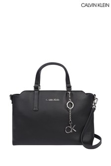 Calvin Klein Black Medium Tote Bag