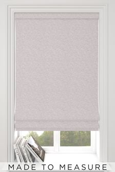 Noah Heather Pink Made To Measure Roman Blind