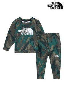 The North Face® Infant Camo Set