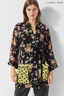 Next/Mix Floral Print Kimono