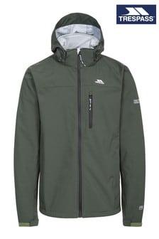 Trespass Green Stanford Male Softshell Jacket