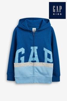 Gap Blue Logo Full Zip Hoody