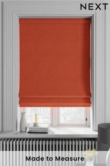 Soho Paprika Orange Made To Measure Roman Blind