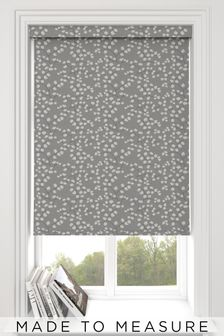 Gilley Steel Grey Made To Measure Roller Blind