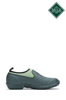 Muck Boots Green Muckster II Low All Purpose Lightweight Shoes