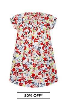 Bonpoint Girls Multi Cotton Dress