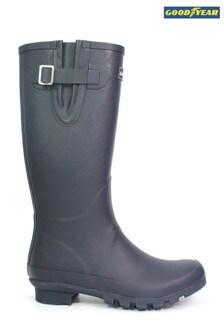 Goodyear Blue Petersfield Blue Wellington Boots