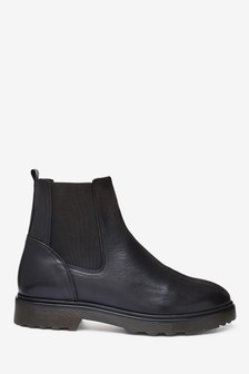 Black Emma Willis Chelsea Boots