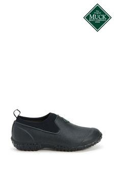 Muck Boots Black Muckster II Low All Purpose Lightweight Shoes
