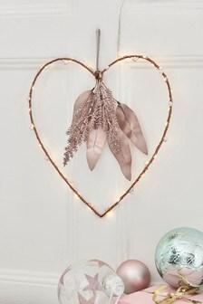 Light Up Hanging Heart