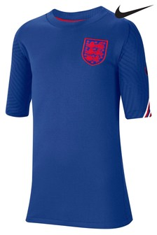 Nike Blue England Strike T-Shirt