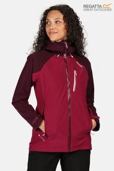 Regatta Purple Womens Birchdale Waterproof Jacket