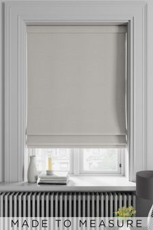 Soho Oyster Natural Made To Measure Roman Blind