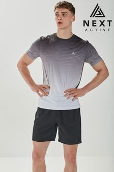 Black Next Active Sports Shorts