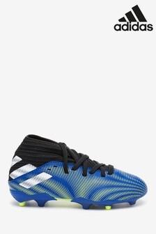 adidas Blue Kids Nemeziz P3 Firm Ground Football Boots