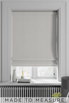 Soho Ivory Cream Made To Measure Roman Blind