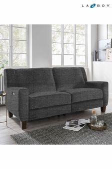 Slate Hazel Large Recliner Sofa by La-Z-Boy