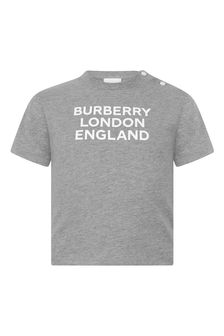Baby Boys Cotton Logo T-Shirt