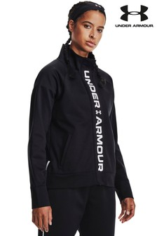Under Armour Womens Black Rush Tricot Jacket