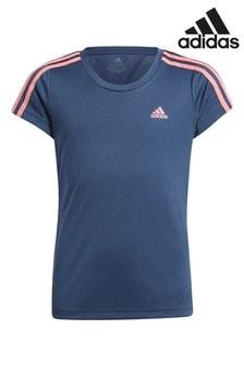 adidas Performance 3 Stripe T-Shirt