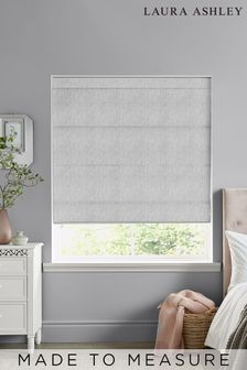 Laura Ashley Whinfell Silver Made to Measure Roman Blind