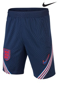Nike Navy England Strike Shorts
