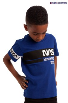 Fabric Flavours Blue NASA Mission Specialist T-Shirt