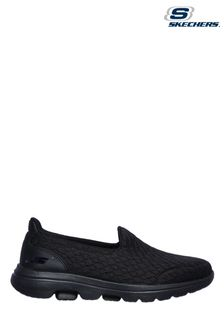 Skechers® Black Go Walk 5 Moving On Trainers