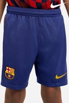 Nike Home Barcelona 20/21 Football Shorts