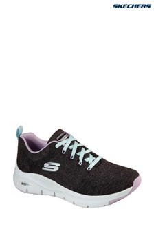 Skechers® Black Arch Fit Comfy Wave Trainers