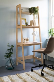 Oak Effect  Malvern Ladder Desk