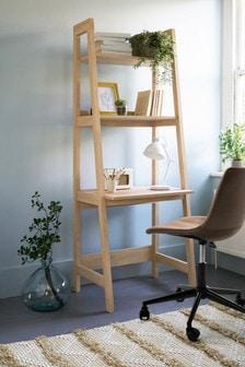 Oak Effect  Malvern Ladder Desk