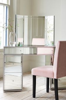 Bevelled Dressing Table Mirror