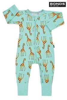 Bonds Blue Zip Giraffe Wondersuit