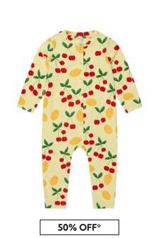 ثوب أطفال أصفر للبنات البيبي