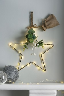 Light Up Hanging Star