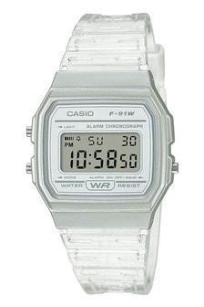 Casio F-91WS Skeleton Strap Watch