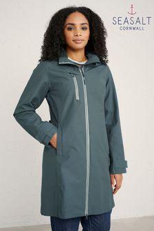 Seasalt Grey Nickel Coverack Coat