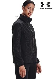 Under Armour Rush Woven Print Full Zip Jacket