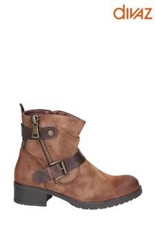 Divaz Jett Zip Up Boots