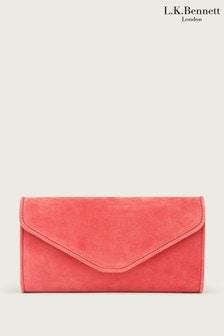 L.K.Bennett Pink Dominica Clutch Bag
