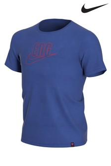 Nike Blue England Swoosh T-Shirt