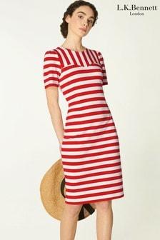 L.K.Bennett Red Emma Dress
