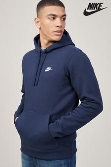 Navy  Nike Club Hoody