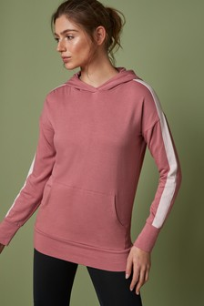 Pink Colourblock Hoody