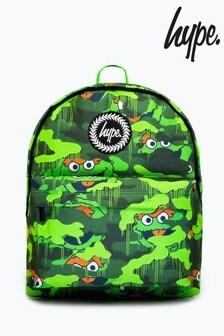 Hype. x Sesame Street Oscar The Grouch Green Camo Backpack