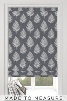 Stellard Flint Grey Made To Measure Roman Blind