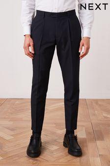 Navy Slim Fit Suit: Trousers