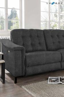 Ashphalt Marlin Large Recliner Sofa by La-Z-Boy